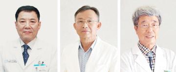 사진왼쪽부터 이경일, 박석영, 고효진 교수