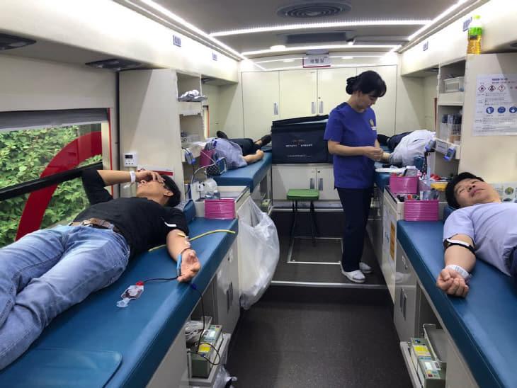 서부 헌혈행사