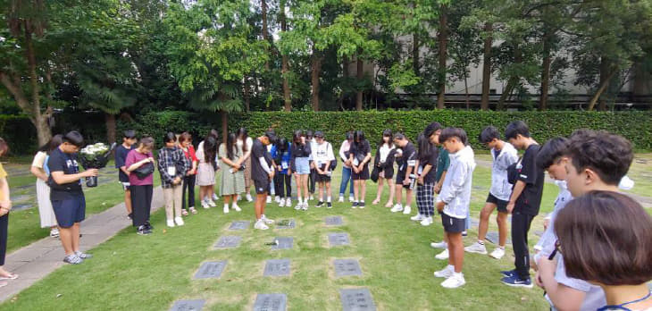 해외 독립운동의 발자취 따라 가는 세종시 학생들(1)