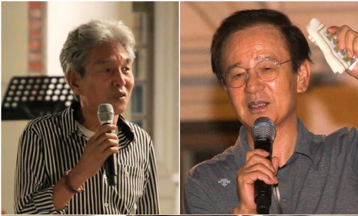 국민작가 박범신과 김홍신 특강 '인기'