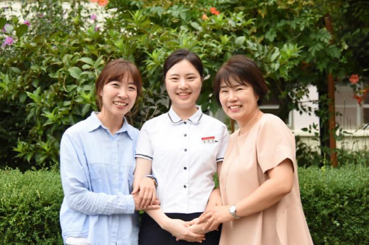 대전여상 장윤정과 지도교사(담임_동아리담임)