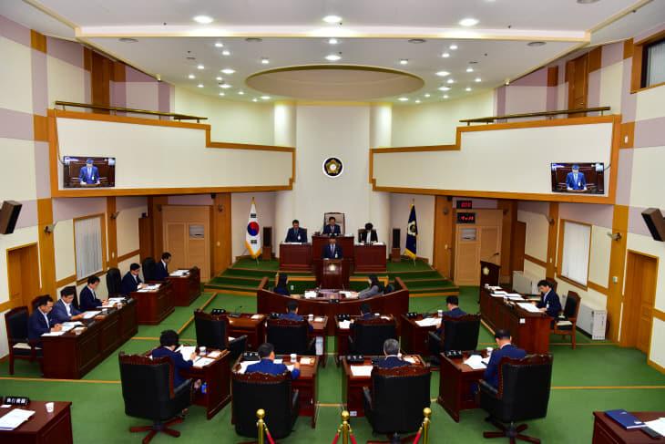 사진_제315회 음성군의회 임시회