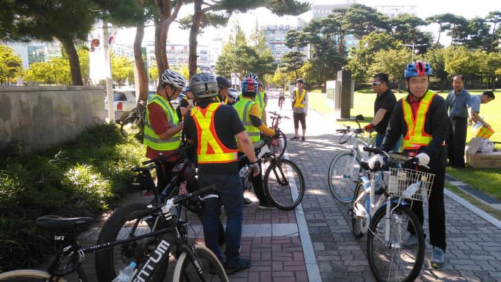 시-구, 자전거 도로 합동 안전점검 (1)