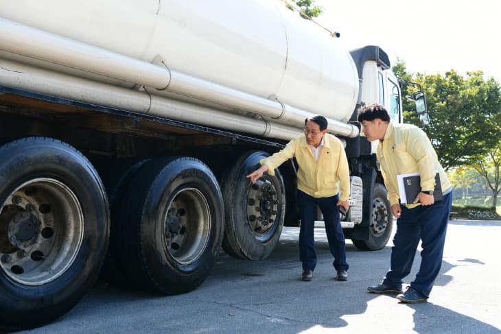 19일(이용록부군수 ASF 방역현장 점검 2)