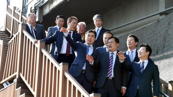 20191008-교통위 국회의원 서대전육교 방문