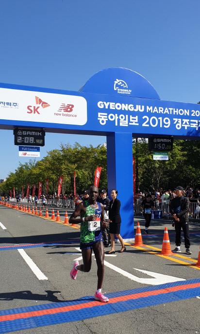 오주한 선수, 도쿄올림픽 출전 기준기록 통과1