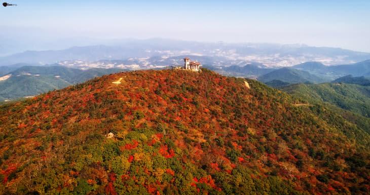 2. 발왕산 평화봉 일원