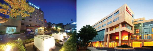 사진_대전선병원(좌)과 유성선병원(우)