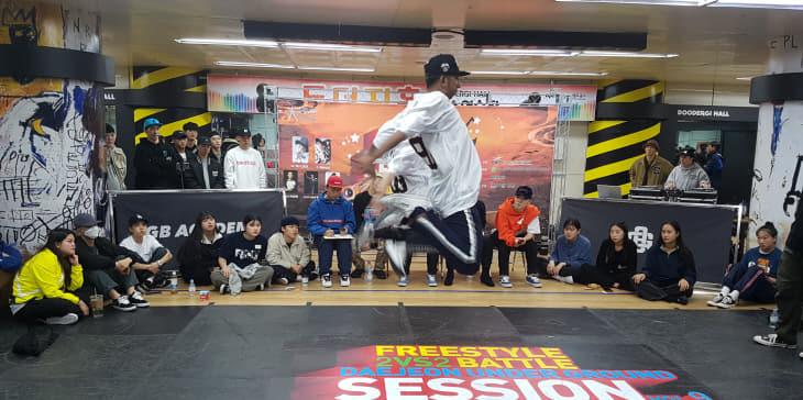 (사진2) 대전도시철도 전국 댄스 페스티벌(배틀)