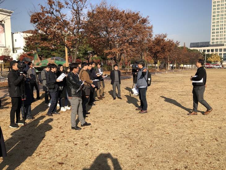 지역 언론과 함께하는 센트럴파크 현장 설명회 개최 (5)