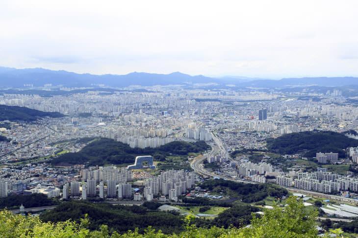 대전시전경