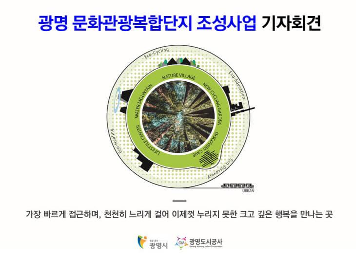 광명시, '광명 문화관광복합단지' 조성 밝혀
