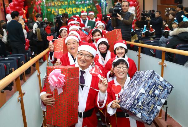 (사진1)산타발대식