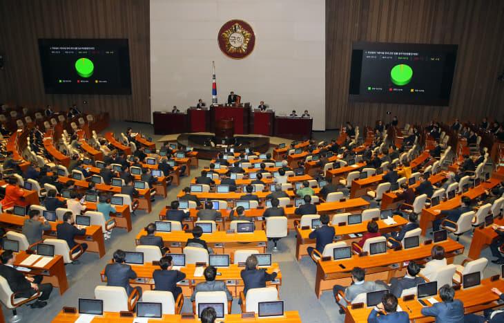 '민식이법' 본회의 통과<YONHAP NO-2501>