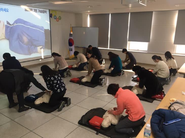 2019. 교직원 심폐소생술 등 응급처치교육 보도자료