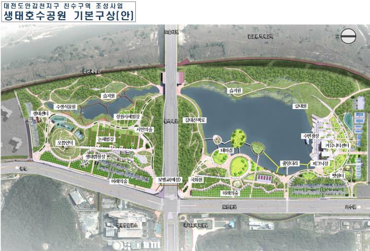 생태호수공원 기본구상(안)