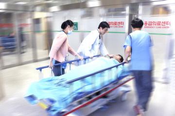 김포우리병원 응급의료센터 진료 사진