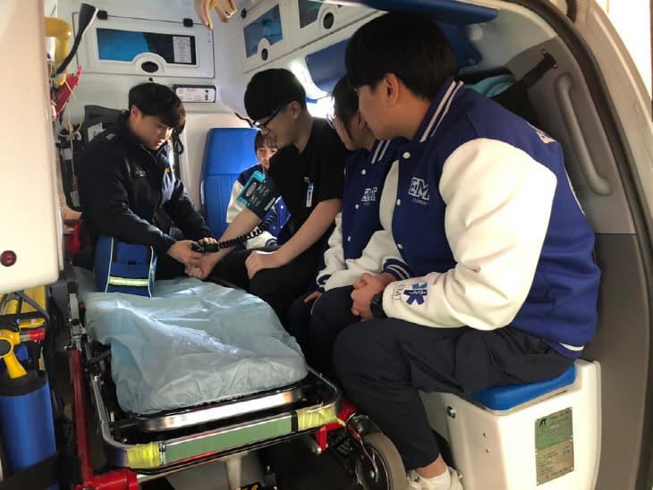 대전소방본부 119구급차 동승실습 실시 (2)