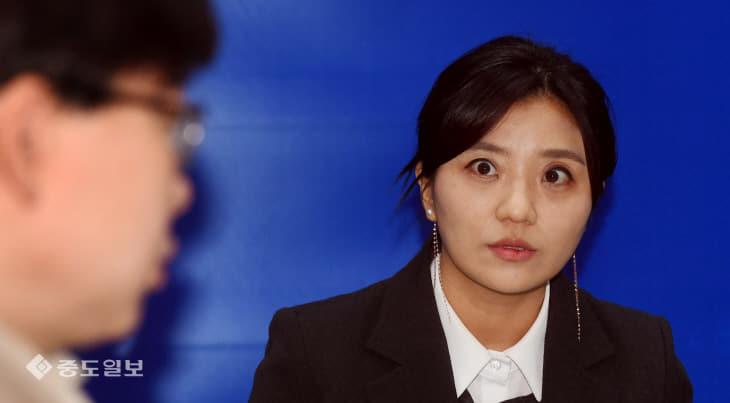 20200116-김소연 의원 사퇴 기자회견
