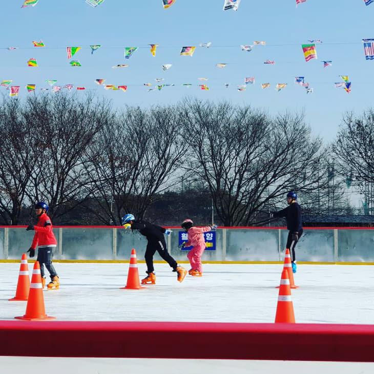 2월분기사 스케이트장
