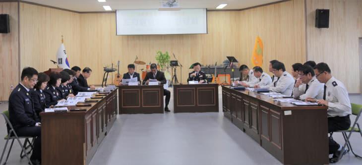 (0214)논산소방서, 지역구 충남도의원과의 간담회 개최