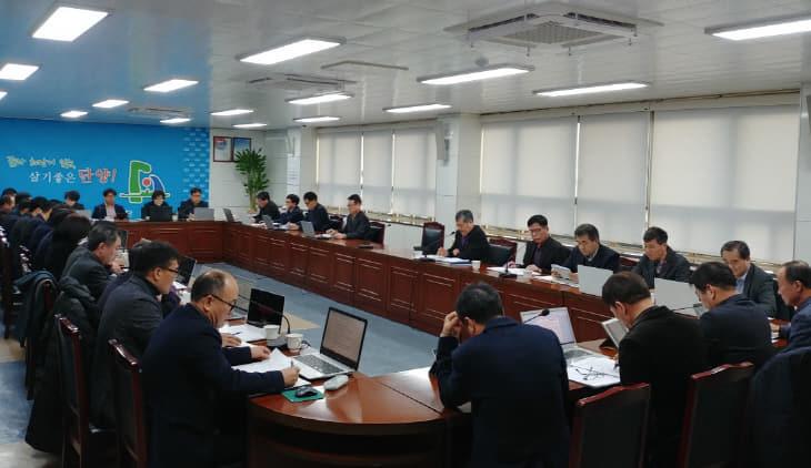 보도1)강전권 부군수 주재 대책회의 사진