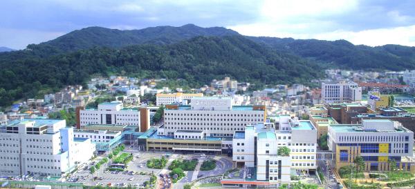 충남대병원 전경