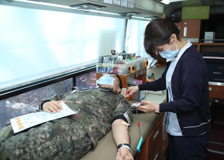 전반기 사랑의 헌혈1
