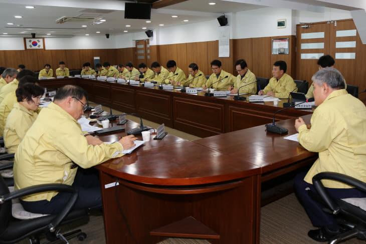 금산군 재난안전대책본부 24시간 강화 운영