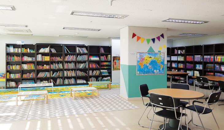어반힐스-도서관