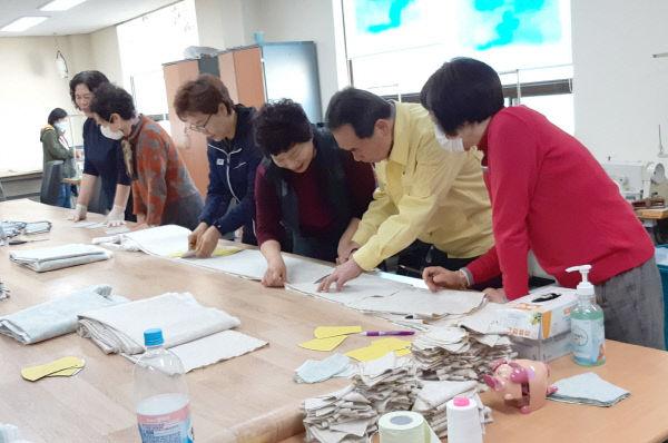 순창 0324 - 수제 마스크 만들기 자원봉사 5