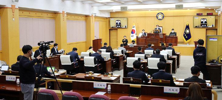 200403 서산시의회, 코로나19 긴급추경 119억 확정(사진1)