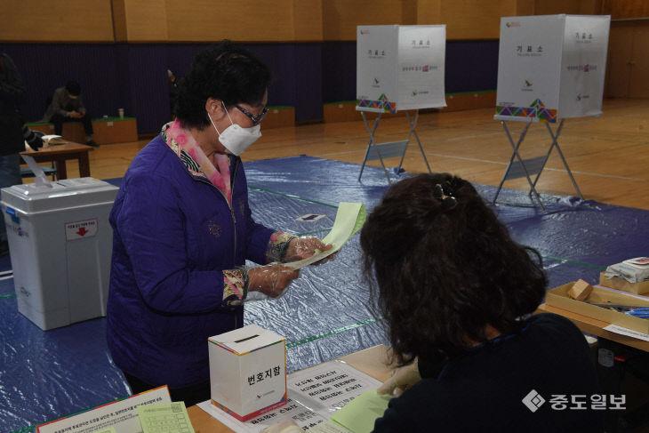 투표용지가 왜 이렇게 길어?