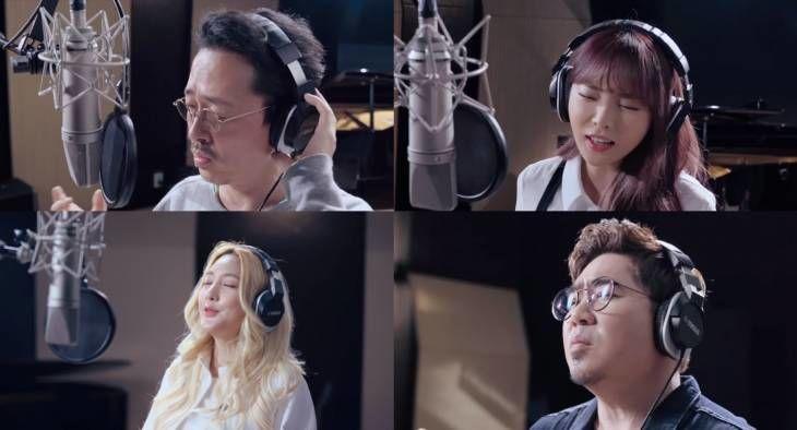 코로나와 싸우고 있는 전세계 의료진에게 보내는 메시지! 대한민국 아티스트 34명의 헌정곡