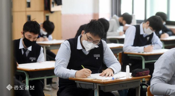 고3 수험생, 올해 첫 전국연합학력평가