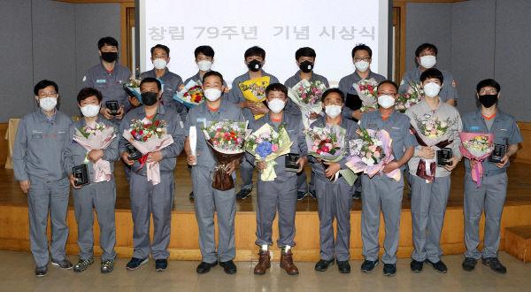 한국타이어, 창립 79주년 기념 시상식 개최