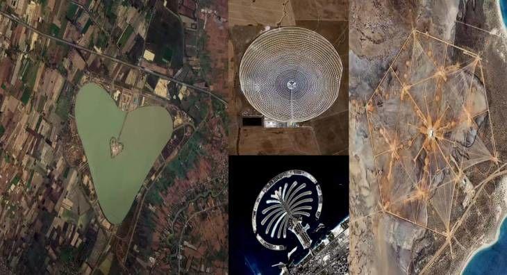 항우연, 우주에서 촬영된 미스테리한 인공구조물 영상 공개