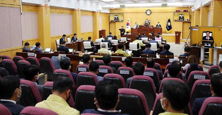 200525 서산시의회, 제252회 임시회 마무리(사진1)