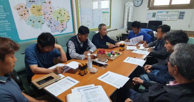 청양군 마을만들기협의회 공동학습체제 돌입