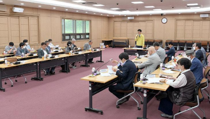 공주시지 편찬위원회 회의 사진 (1)