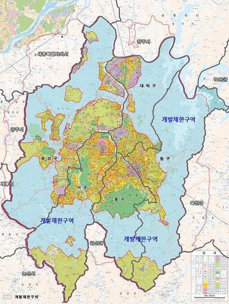 대전시 개발제한구역