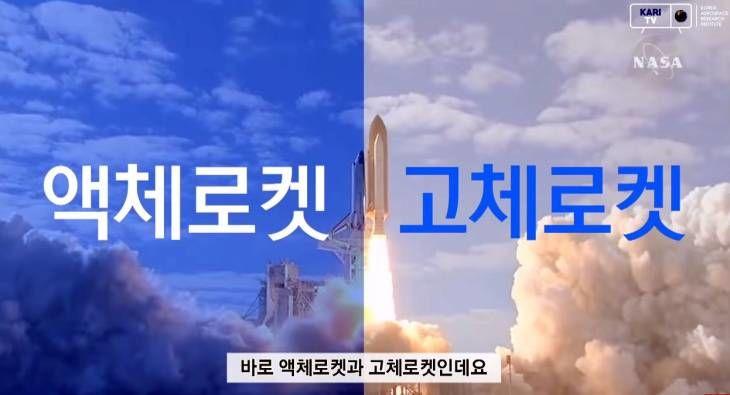한국형 발사체 누리호가 액체로켓으로 개발되는 이유