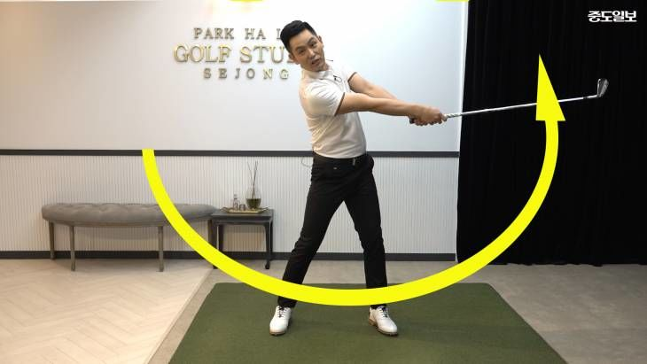 [박하림의 골프스튜디오] 6 이것만 잘 하면 골프스윙 절반은 성공! 하프스윙의 정석