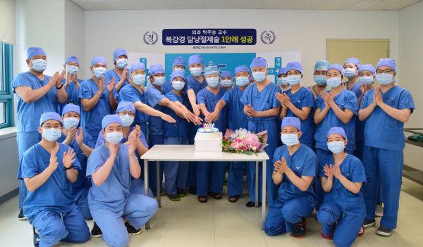 (200702)복강경 담낭절제술 1만례 성공
