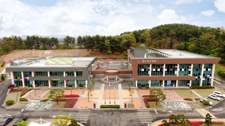 서산문화복지센터 전경