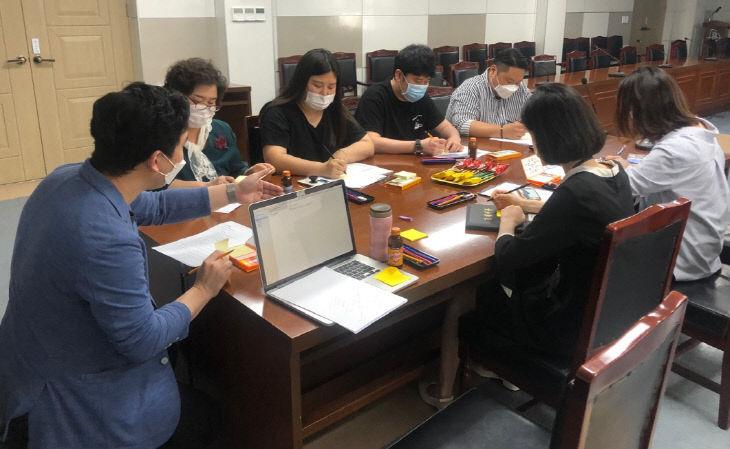 보도1)군민디자인단 운영 사진1