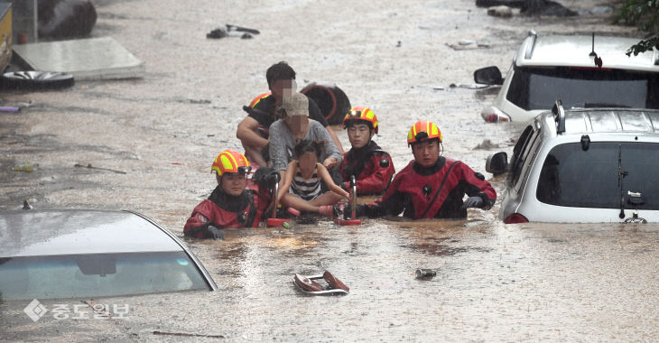 20200730-대전 폭우 피해3