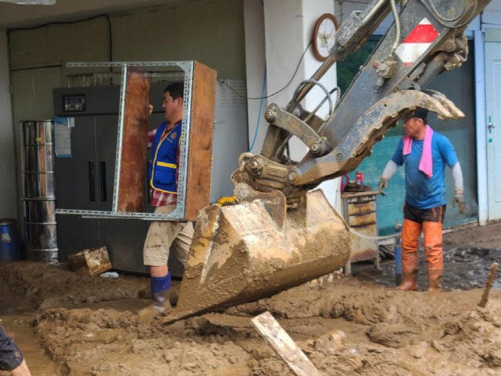 07-9 음성군 자원봉사센터 침수주택 복구사진(삼성면 대야리)