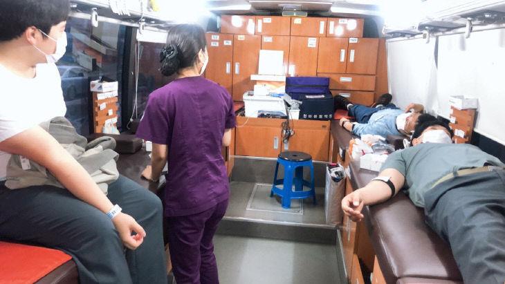 202008 노사 합동 헌혈 캠페인