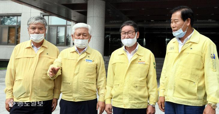 한국수자원공사 사장 면담 마친 4개 지역 기초단체장